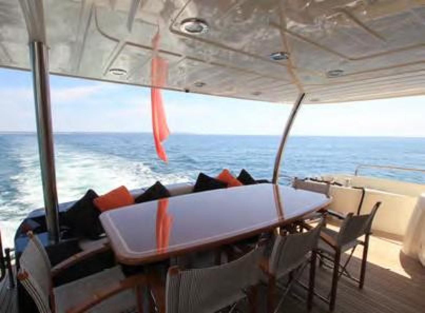 Sunseeker-Flybridge Motoryacht 2009-ANNABEL Mallorca-Spain-Aft Deck-902611 | Thumbnail