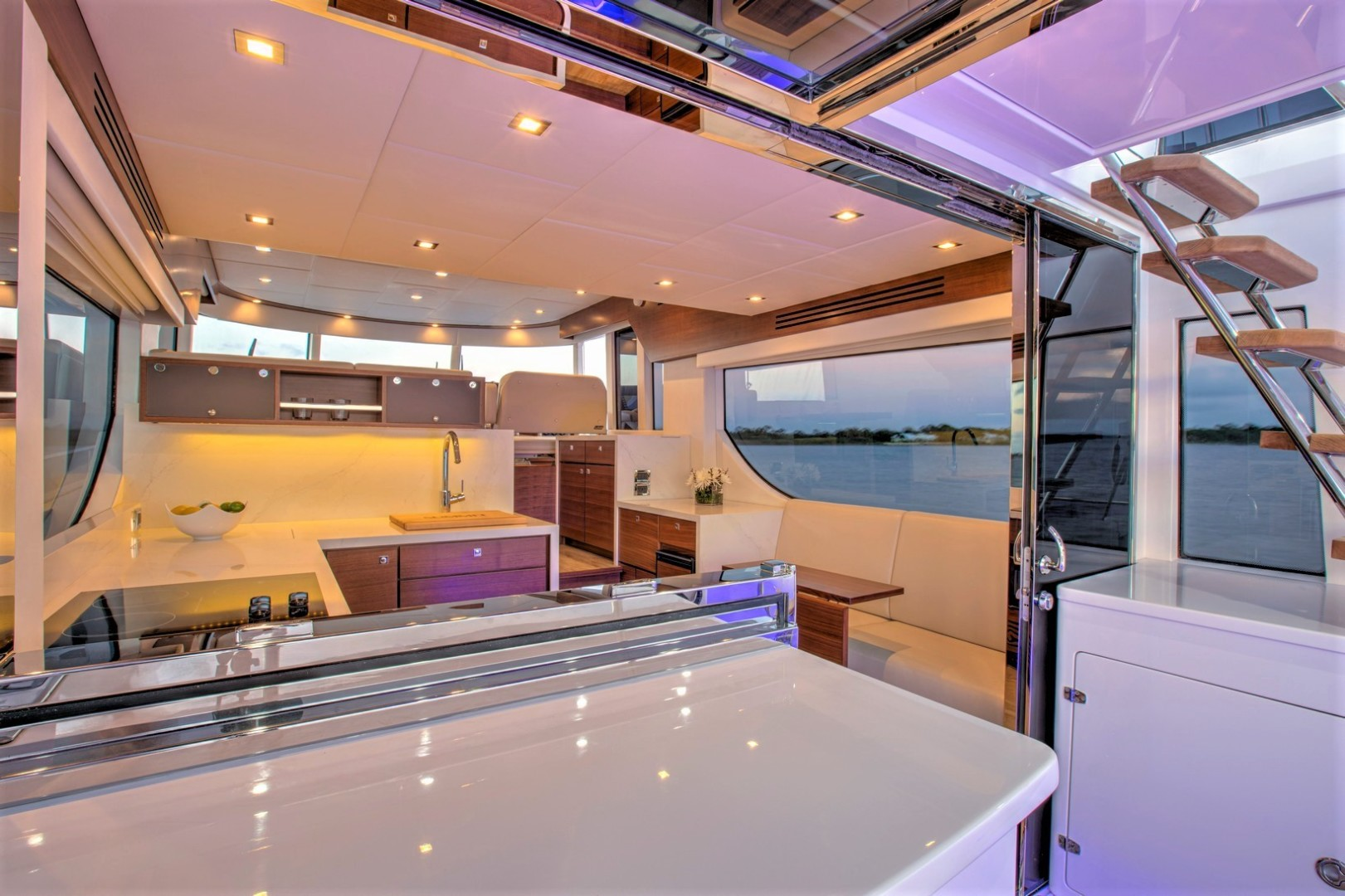 Summit MotorYachts-Summit 54 2020-Summit 54 Annapolis  -Maryland-United States-Cockpit Bar and Galley Access-1488772 | Thumbnail