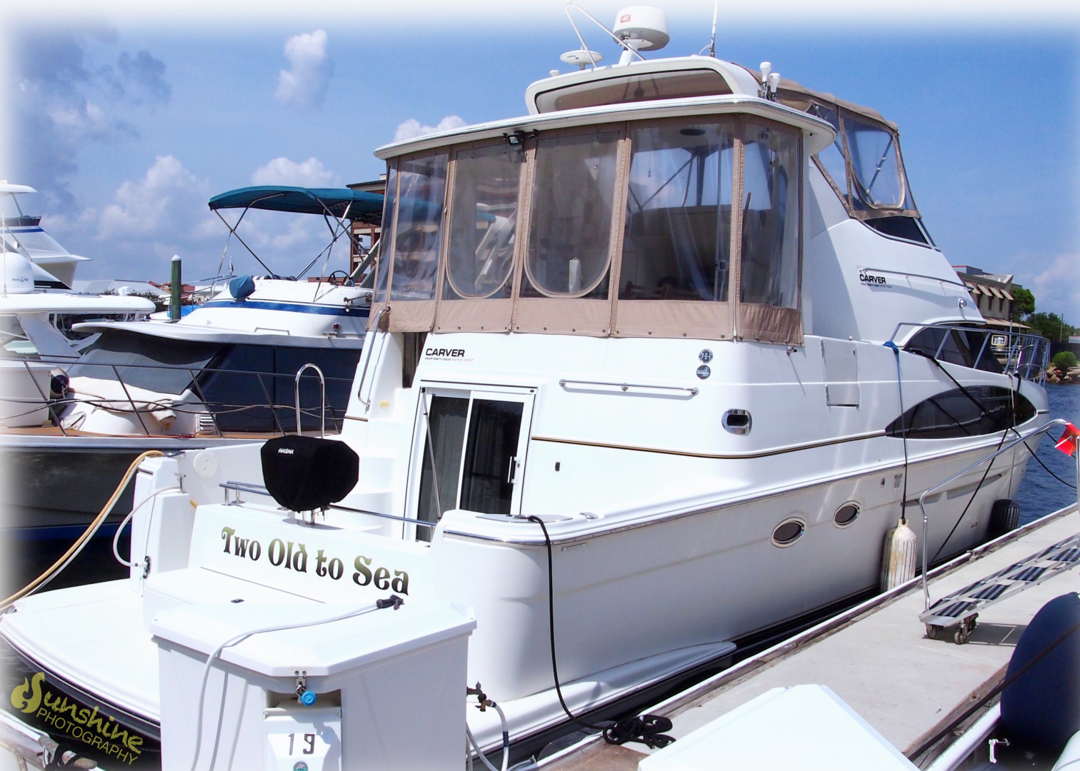 2004 Carver 44 Cockpit Motor Yacht Yacht For Sale | Too Old to Sea | SI  Yachts