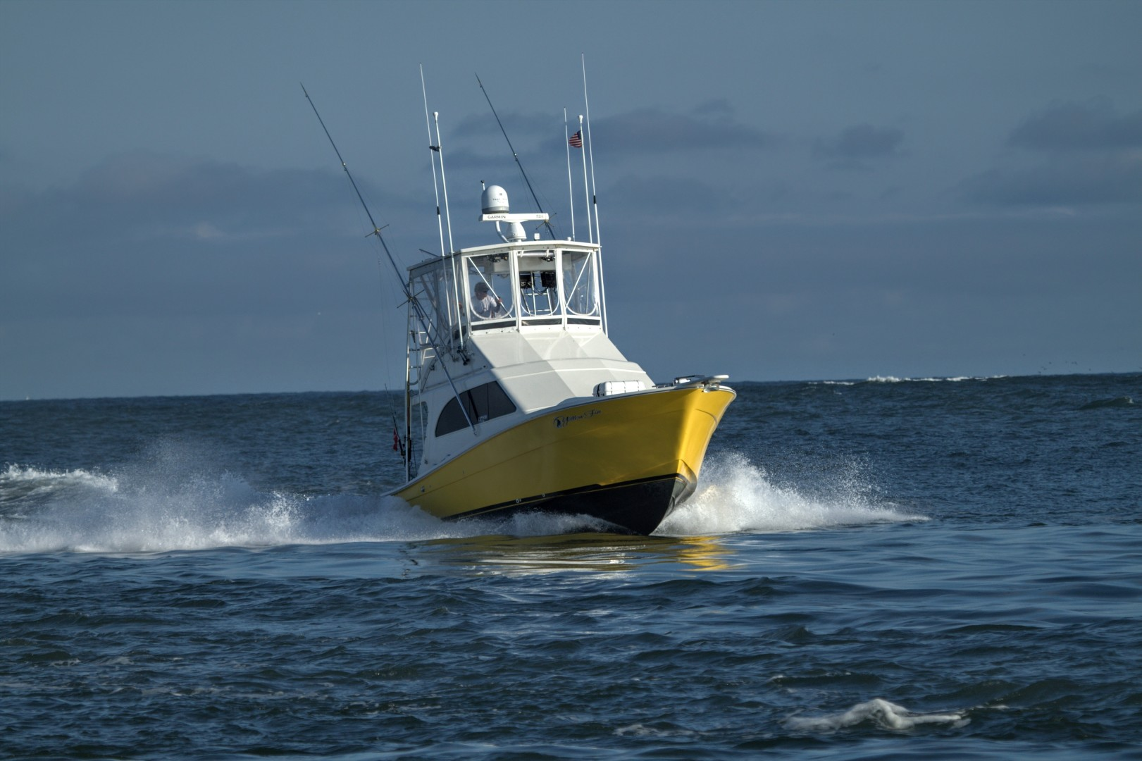Topaz-37 Sporfish Convertible 1991-Yellowfin Ocean City-Maryland-United States-Yellowfin Running-936186 | Thumbnail