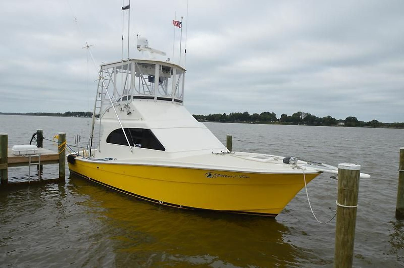 Topaz-37 Sporfish Convertible 1991-Yellowfin Ocean City-Maryland-United States-936191 | Thumbnail