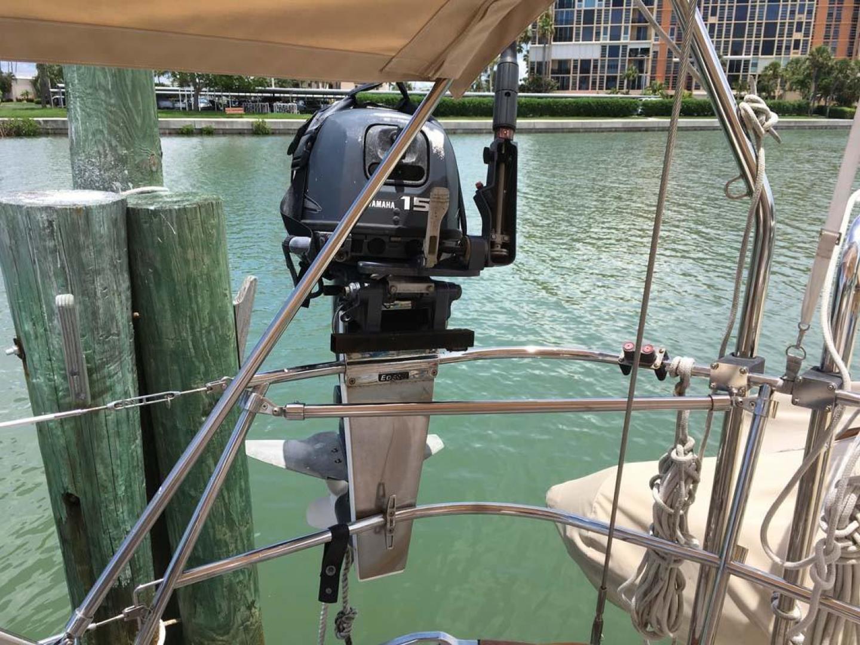 Sabre-386 2006-Seagram Pasadena-Florida-United States-15 HP Yamaha Outboard-918920 | Thumbnail