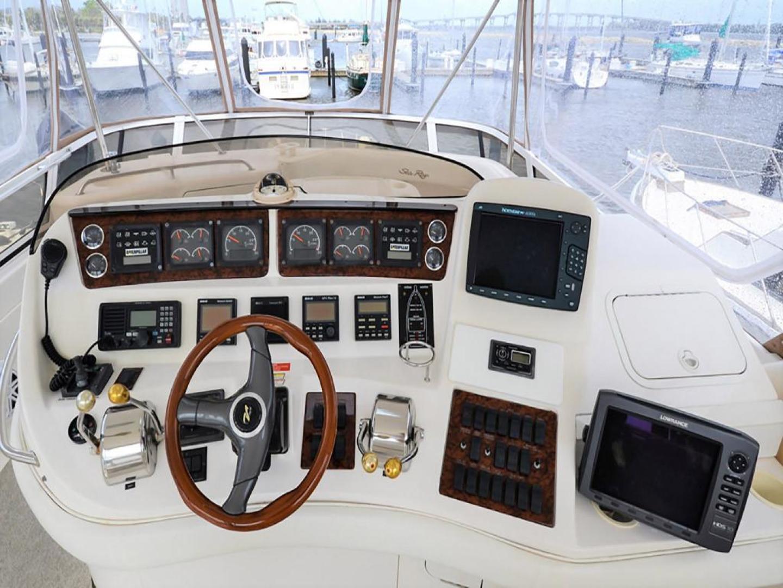 Sea-Ray-480-Sedan-Bridge-1999-Sky-Blue-Fort-Pierce-Florida-United-States-Helm-920113