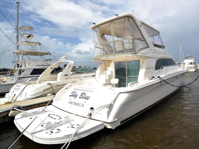 Sea-Ray-480-Sedan-Bridge-1999-Sky-Blue-Fort-Pierce-Florida-United-States-Starboard-Aft-Quarter-920121