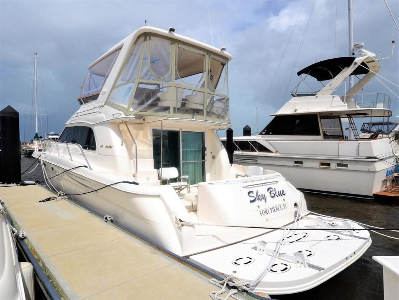 Sea-Ray-480-Sedan-Bridge-1999-Sky-Blue-Fort-Pierce-Florida-United-States-Port-Aft-Quarter-920120