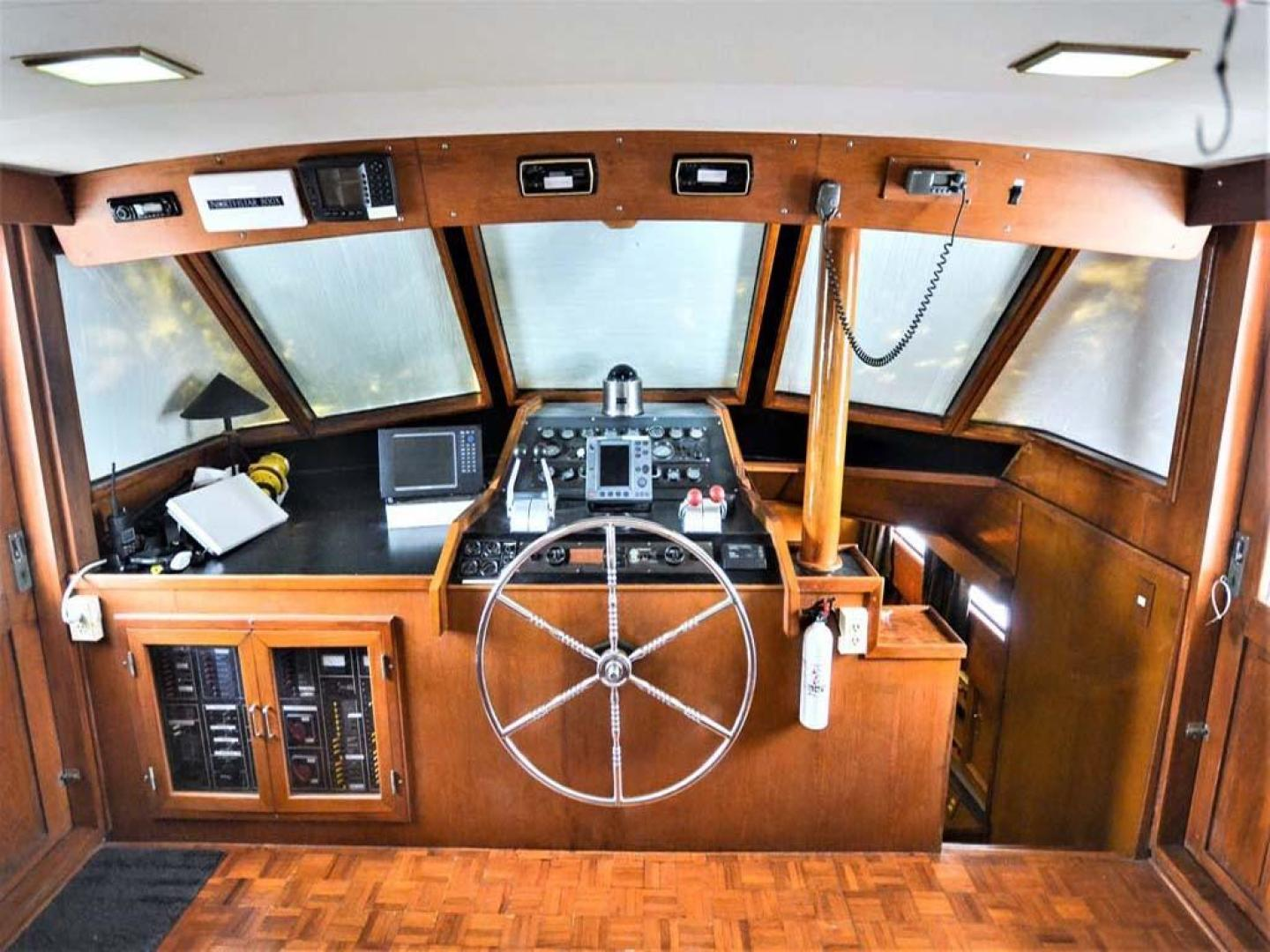 Sea Ranger-56 Motor Yacht 1987-Déjà Vu Too Stuart-Florida-United States-Lower Helm-920197 | Thumbnail