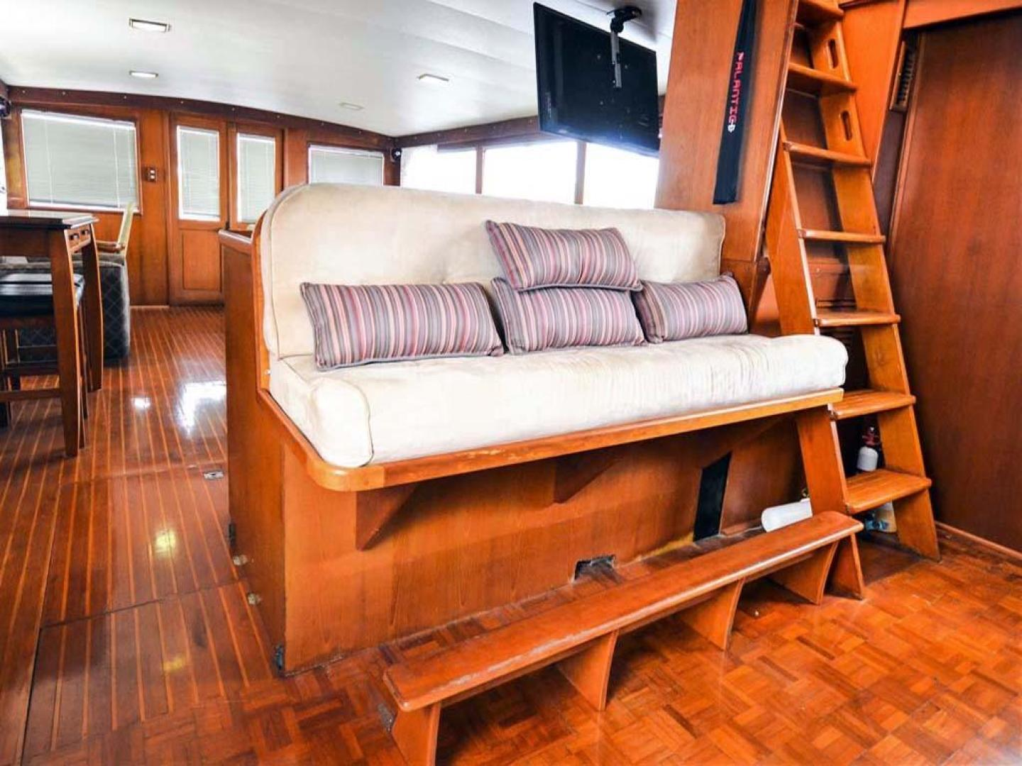 Sea Ranger-56 Motor Yacht 1987-Déjà Vu Too Stuart-Florida-United States-Helm Seating-920199 | Thumbnail