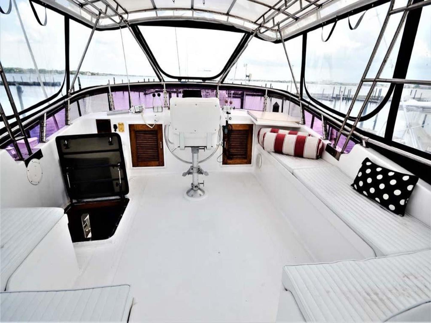 Sea Ranger-56 Motor Yacht 1987-Déjà Vu Too Stuart-Florida-United States-Flybridge Seating-920195 | Thumbnail