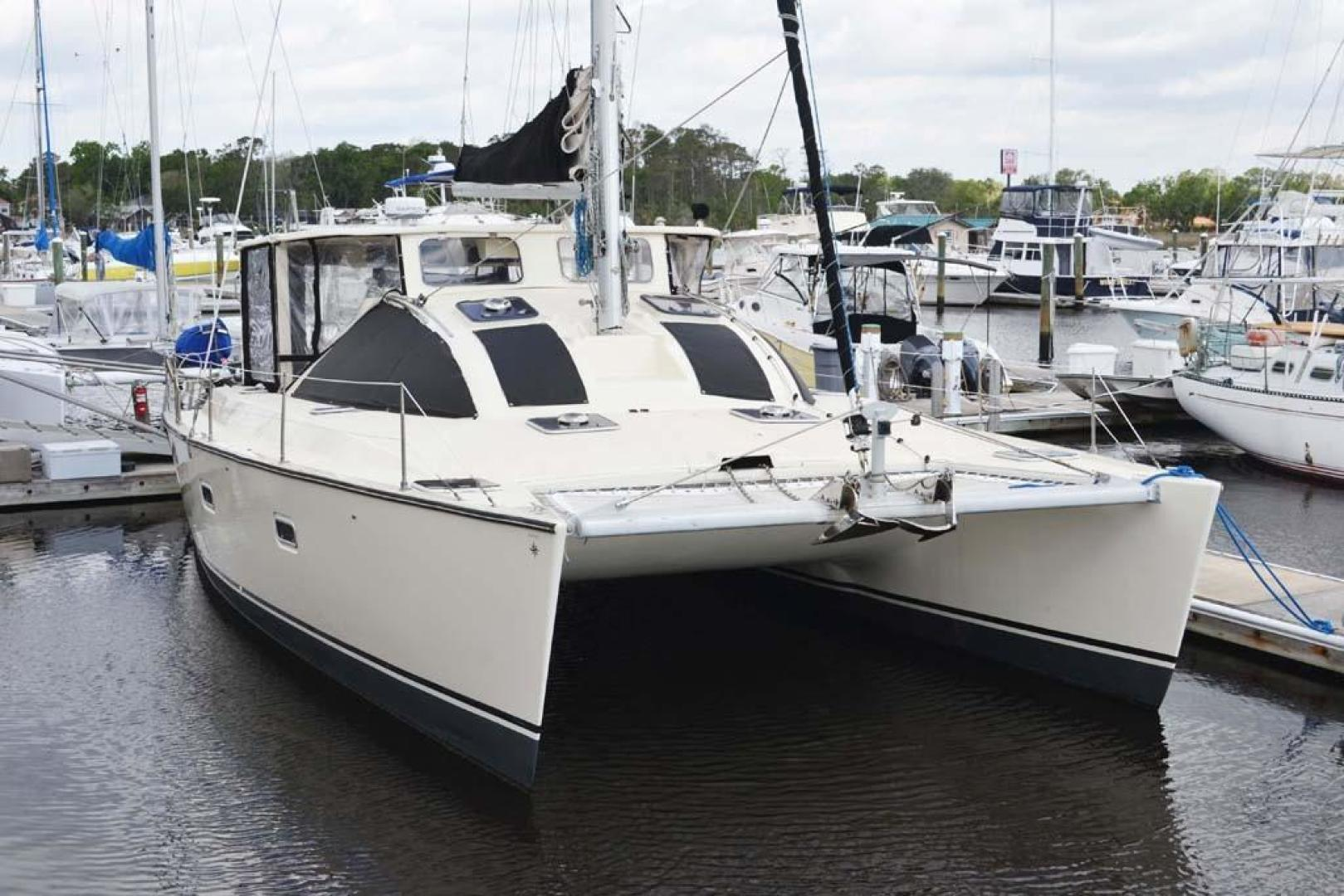 Jeanneau-Lagoon 37 1997-Chantalina Jacksonville-Florida-United States-Bow-924808 | Thumbnail