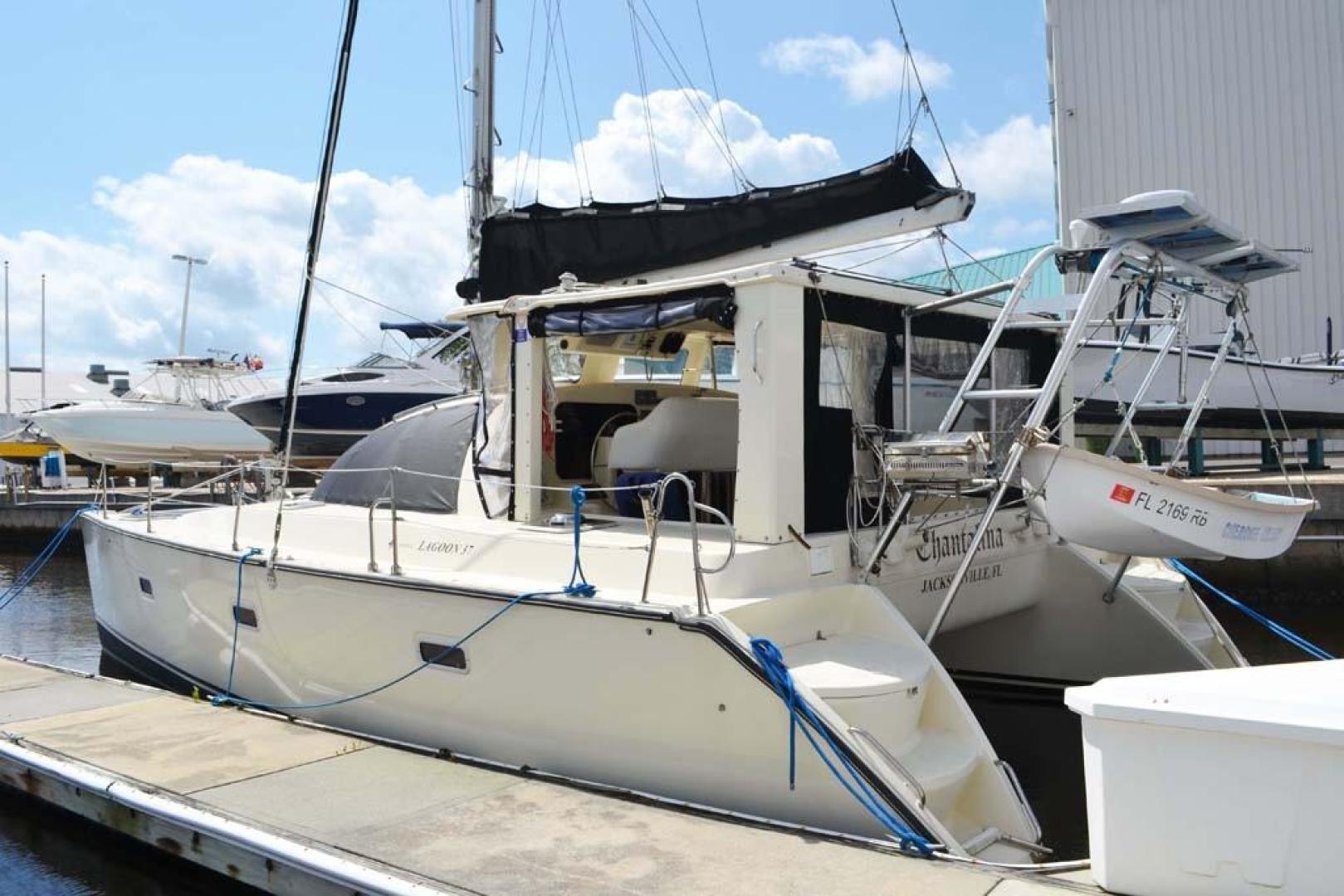 Jeanneau-Lagoon 37 1997-Chantalina Jacksonville-Florida-United States-Port Aft Quarter-924809 | Thumbnail