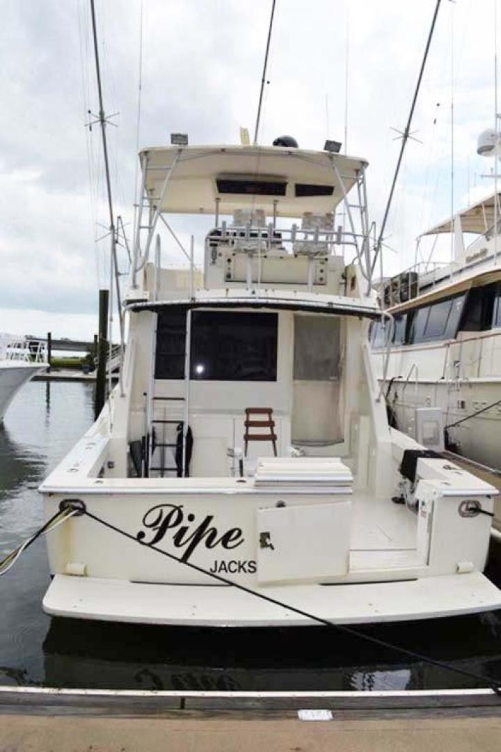 Viking-Convertible 1990-Pipe Dream St. Augustine-Florida-United States-Stern View-924770 | Thumbnail