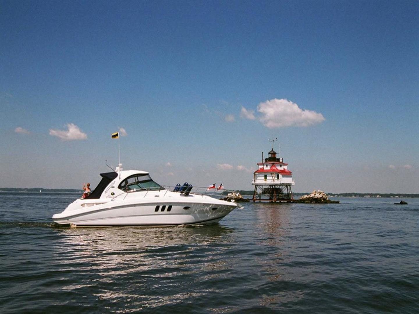 Sea Ray-38 Sundancer 2007-El Don North Beach-Maryland-United States-Underway  CB TPL-923238 | Thumbnail