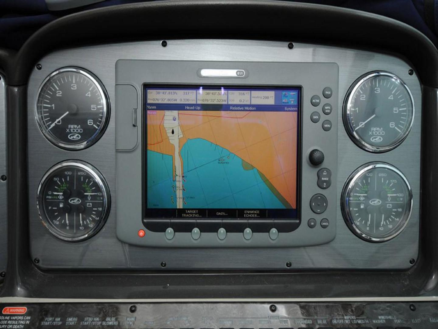Sea-Ray-38-Sundancer-2007-El-Don-North-Beach-Maryland-United-States-Helm-Instruments-and-Chartplotter-923282