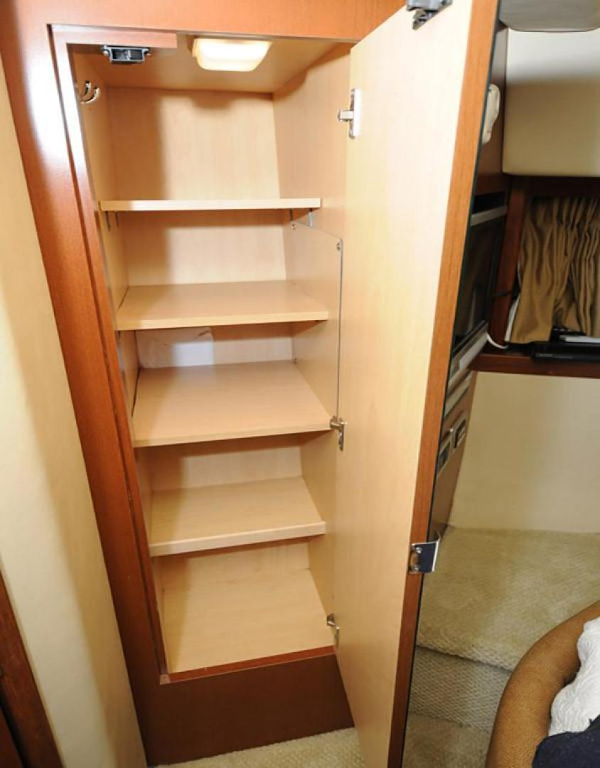 Sea Ray-38 Sundancer 2007-El Don North Beach-Maryland-United States-Master Stateroom Port Locker-923262 | Thumbnail