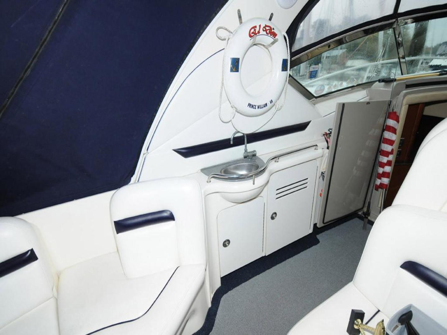 Sea-Ray-38-Sundancer-2007-El-Don-North-Beach-Maryland-United-States-Cockpit-Port-923274