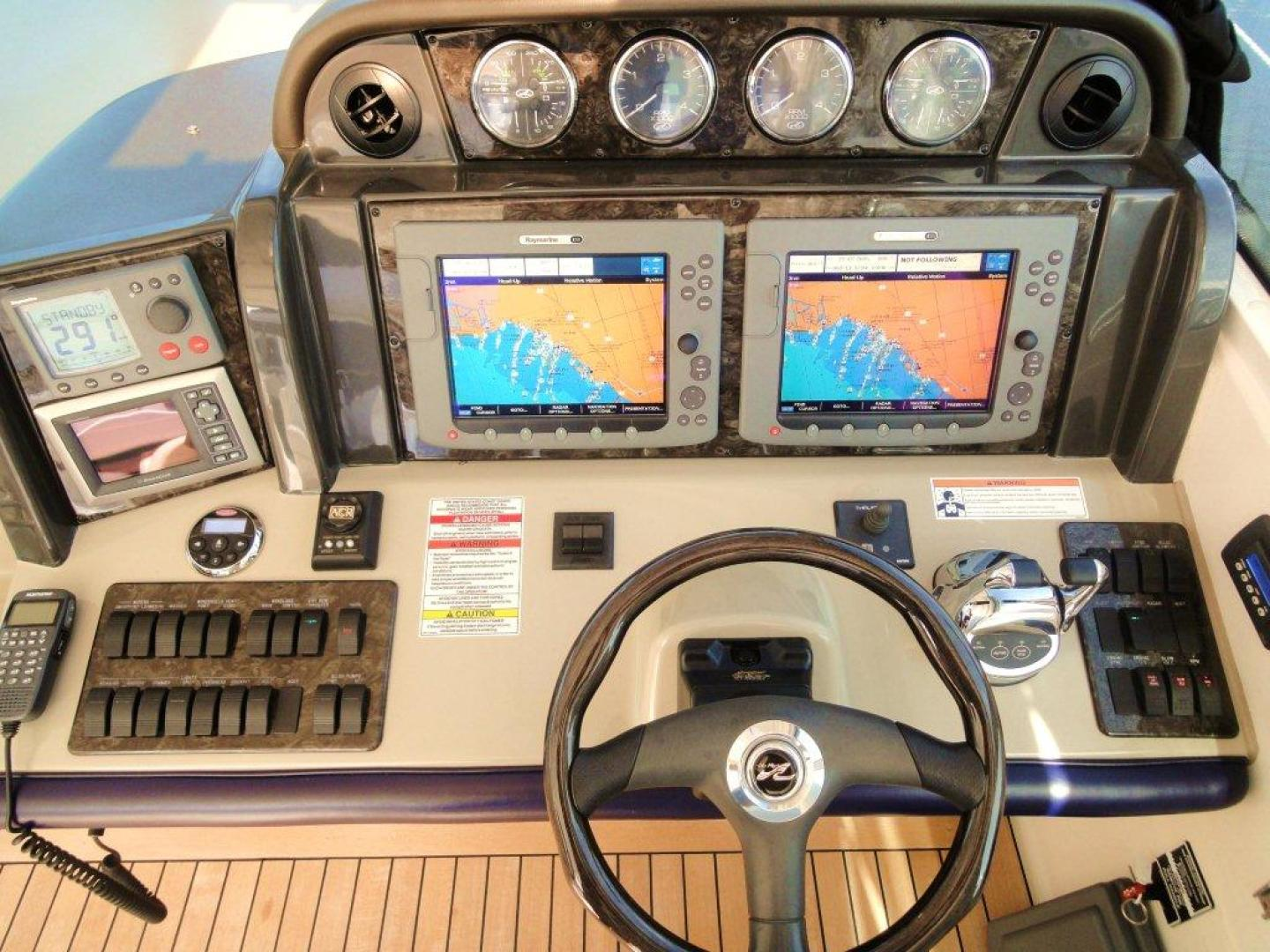 Sea Ray-48 Sundancer 2008-Francesca Coconut Grove-Florida-United States-Helm/Electronics-918639 | Thumbnail