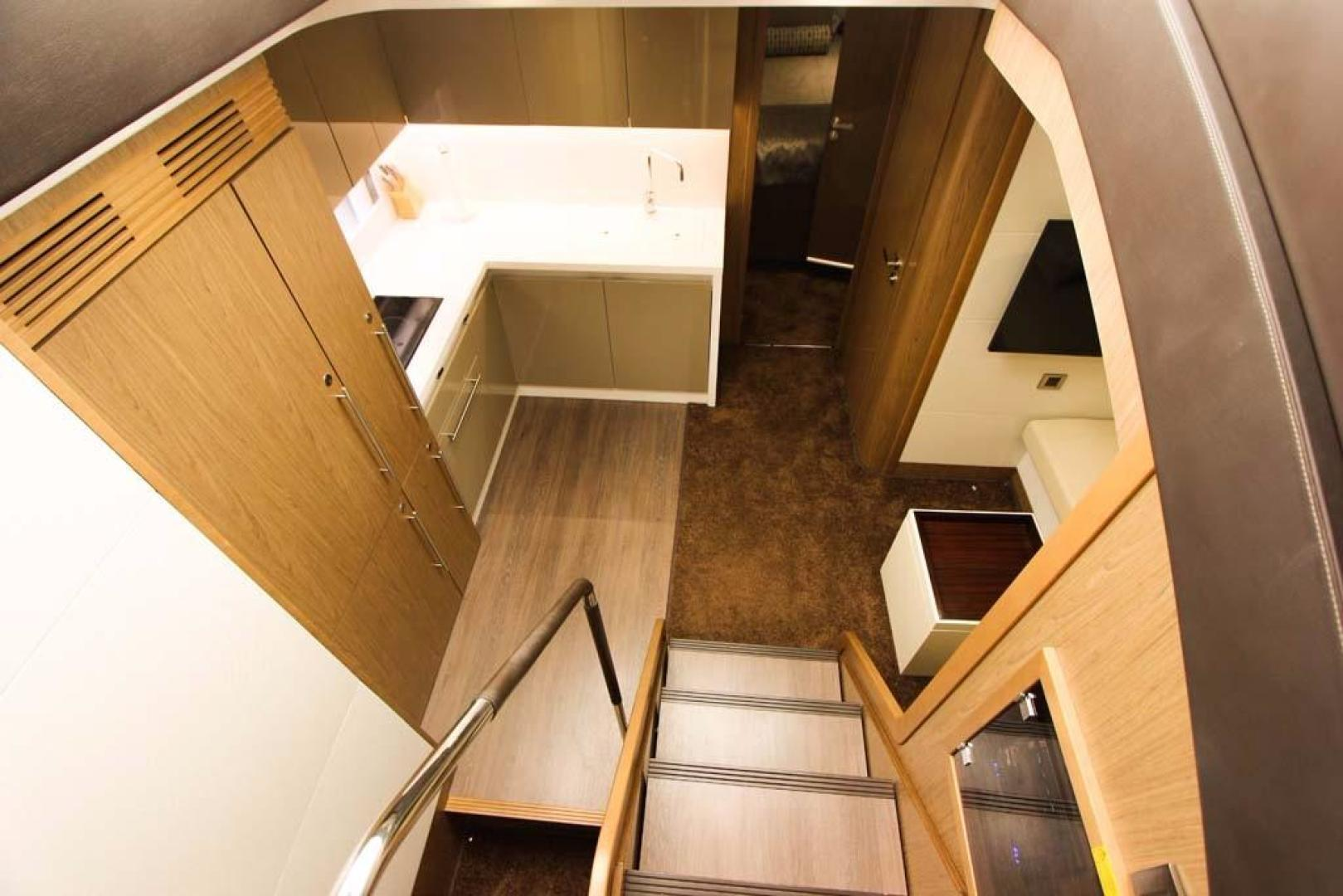 Beneteau-49 GT 2014 -Key Biscayne-Florida-United States-Stairs to Lower Salon-918816 | Thumbnail