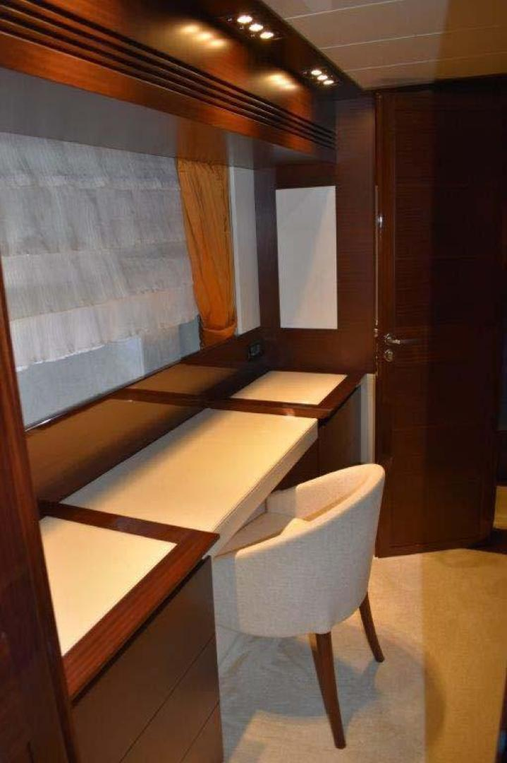 PerMare-Amer 92 2010-Lady H Sanremo-Italy-Owners Cabin Desk-923788 | Thumbnail