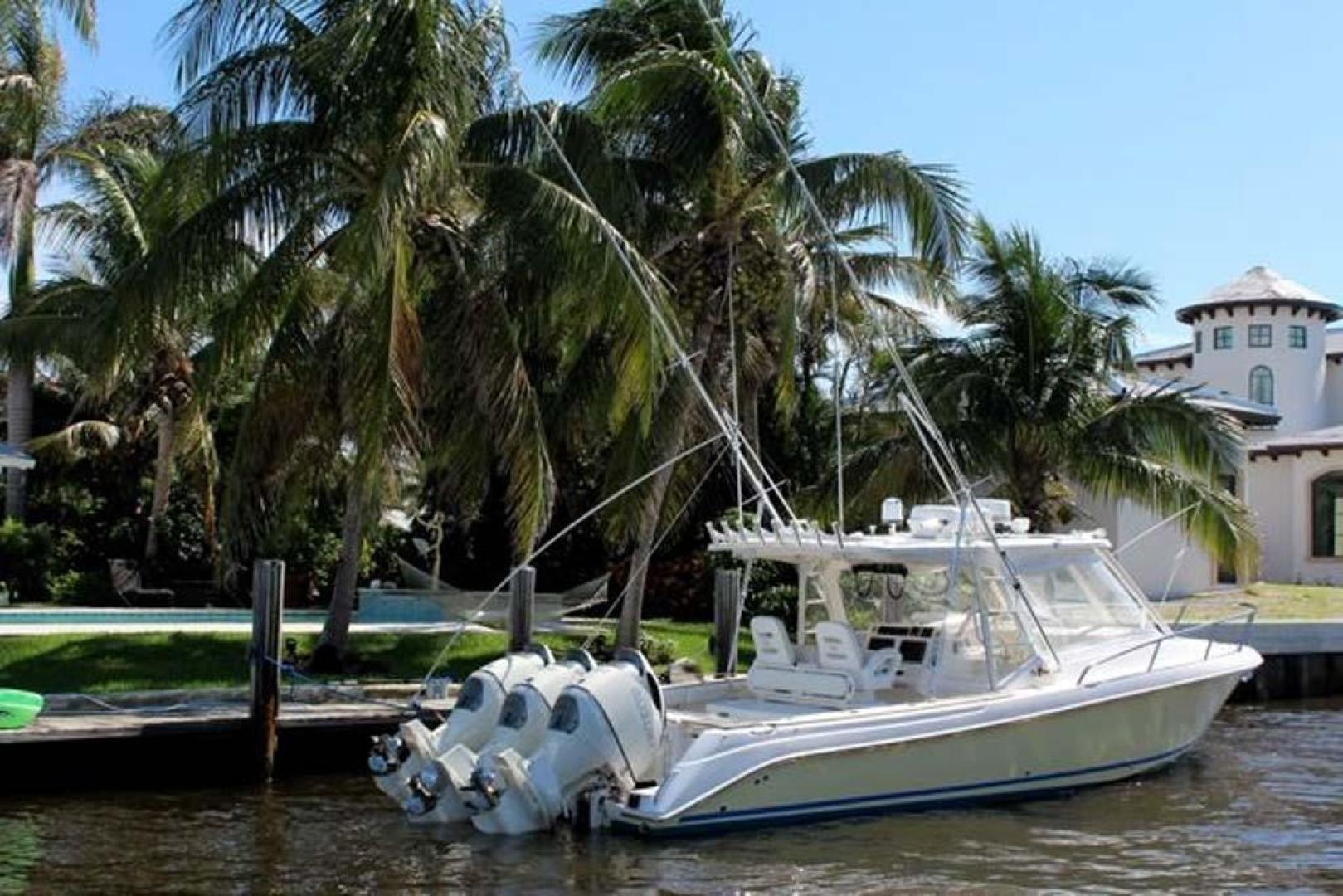 Everglades-35 LX NEW POWER 2010 -Delray Beach-Florida-United States-Profile with Eisenglass-923981 | Thumbnail