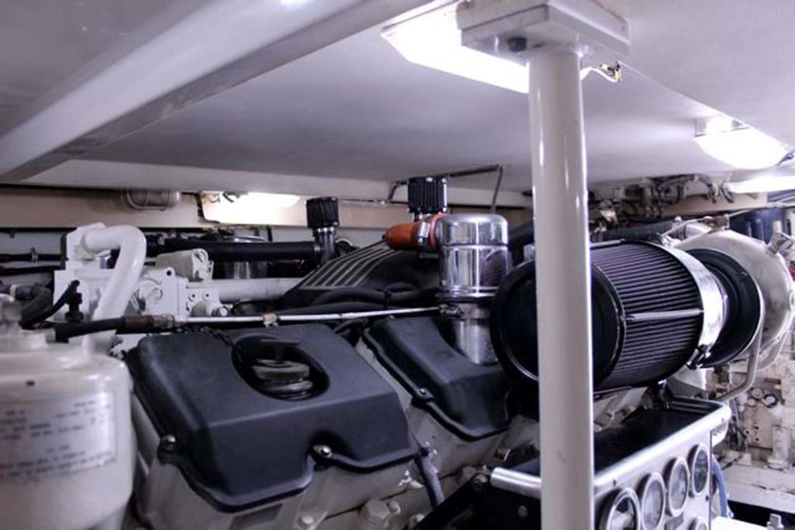 Bertram-54 Convertible 2000-Reel Healin Lighthouse Point-Florida-United States-Engine Room lll-1065943 | Thumbnail