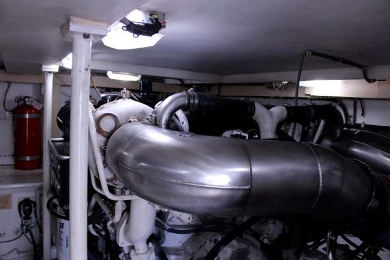 Bertram-54 Convertible 2000-Reel Healin Lighthouse Point-Florida-United States-Engine Room V-1065945 | Thumbnail