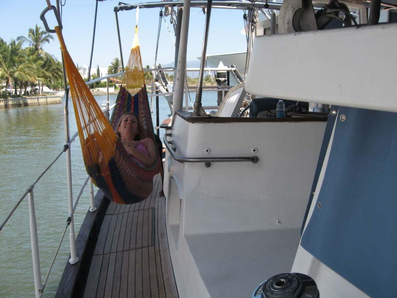 Custom-John Walsh Expedition Schooner 1988-Quest Ft. Lauderdale-Florida-United States-Gangway-924088 | Thumbnail
