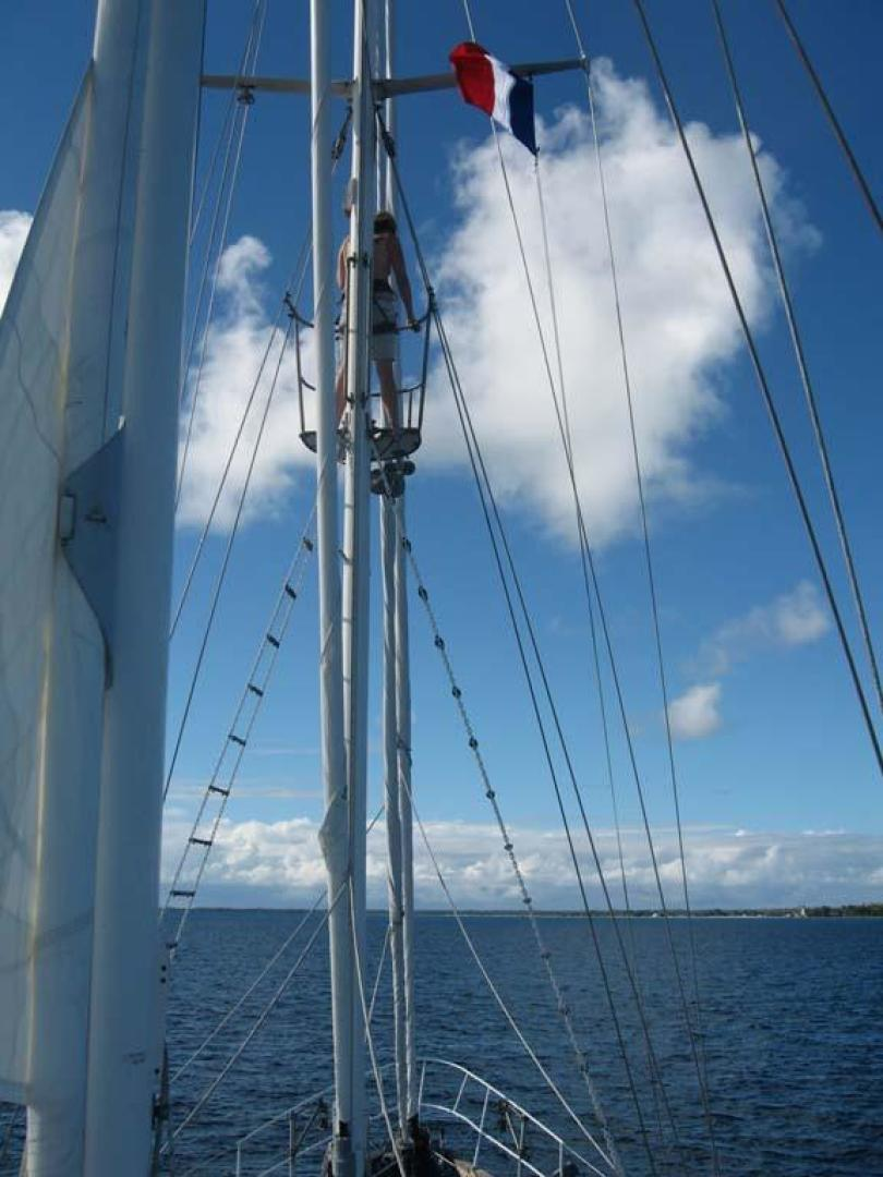 Custom-John Walsh Expedition Schooner 1988-Quest Ft. Lauderdale-Florida-United States-Crows Nest-924093 | Thumbnail