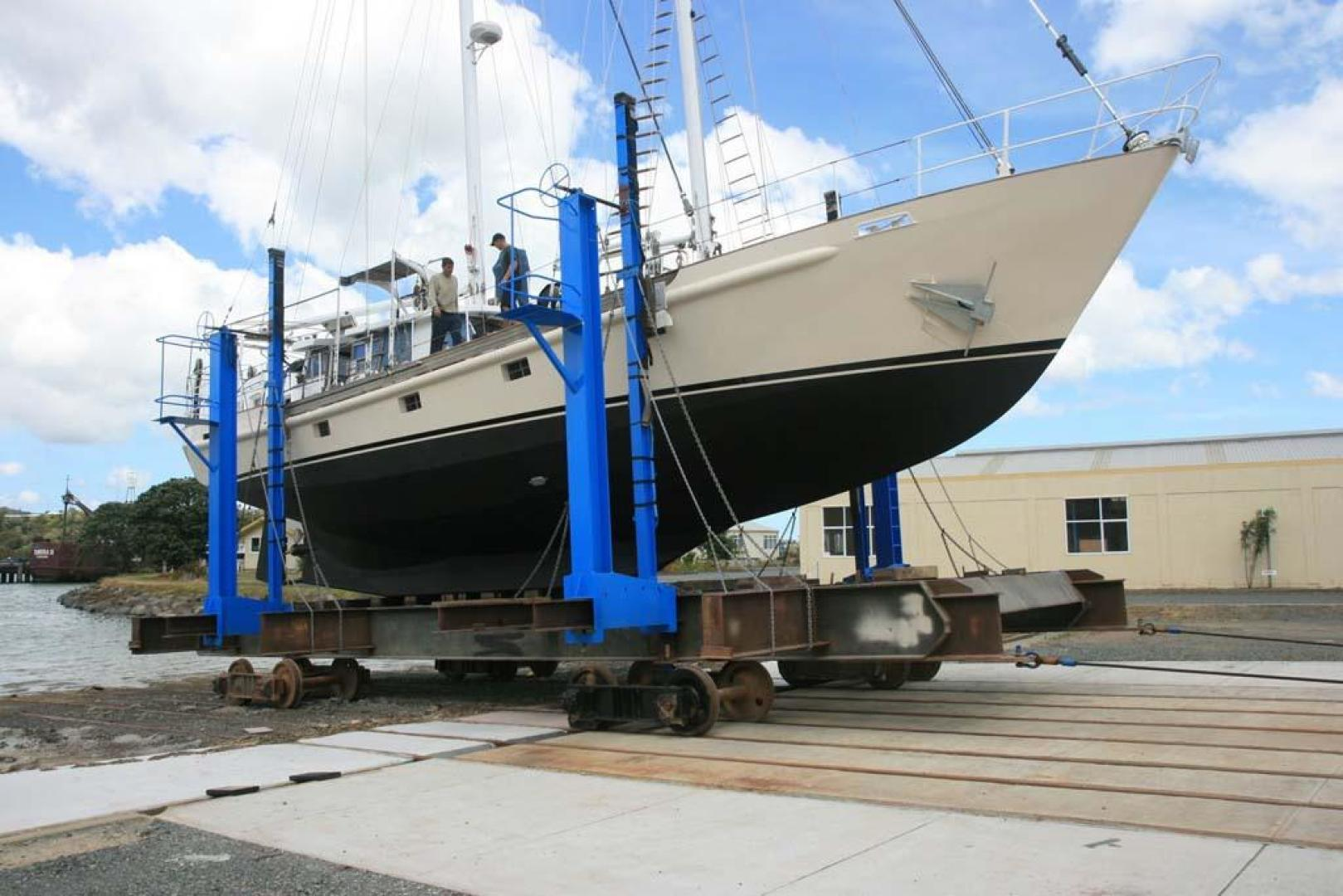 Custom-John Walsh Expedition Schooner 1988-Quest Ft. Lauderdale-Florida-United States-On The Hard-924101 | Thumbnail