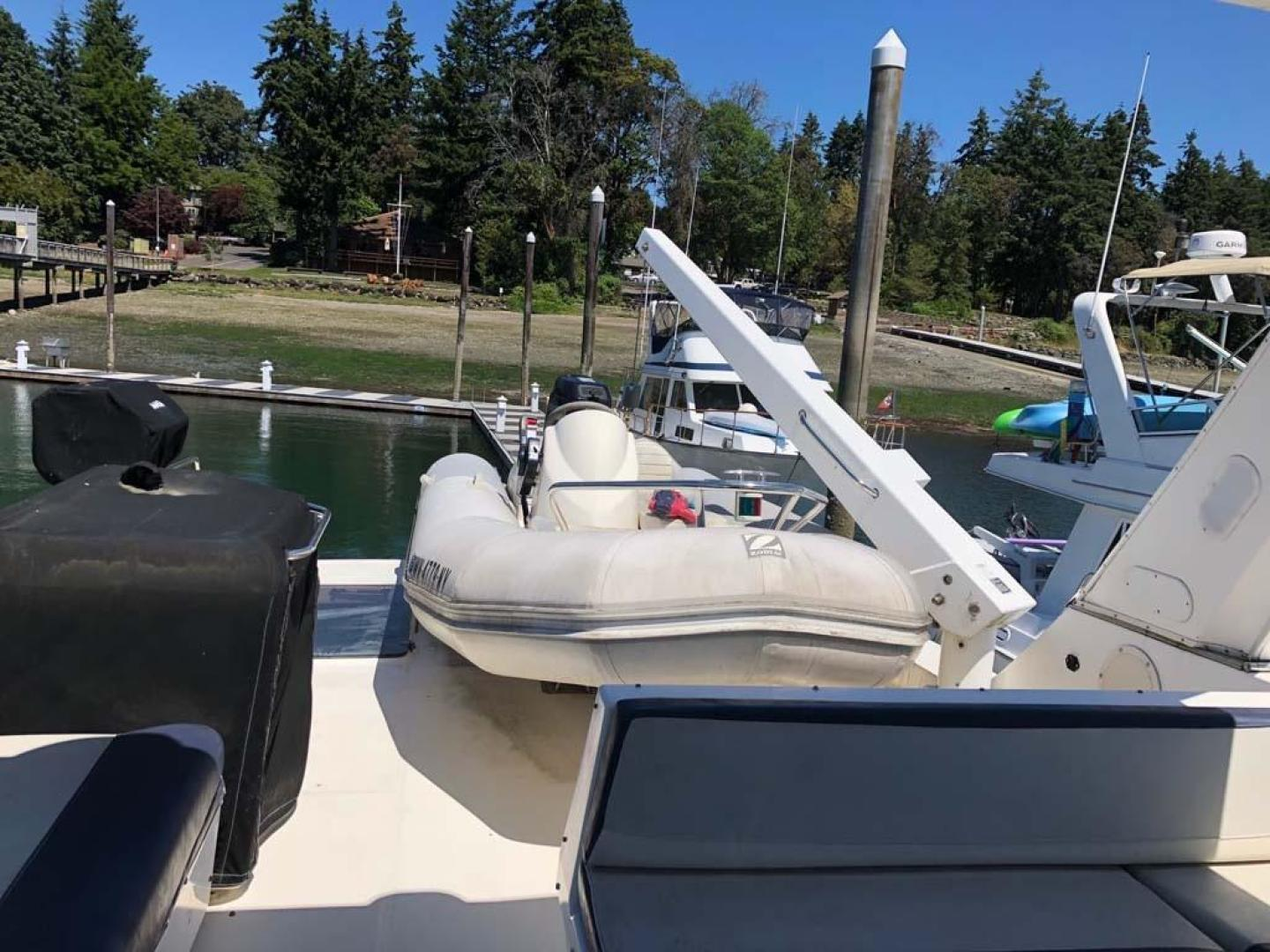 Bayliner-4788 Pilothouse 1995-RC Voyager Seattle-Washington-United States-Dinghy, Davit, Wetbar and Grill-930584 | Thumbnail