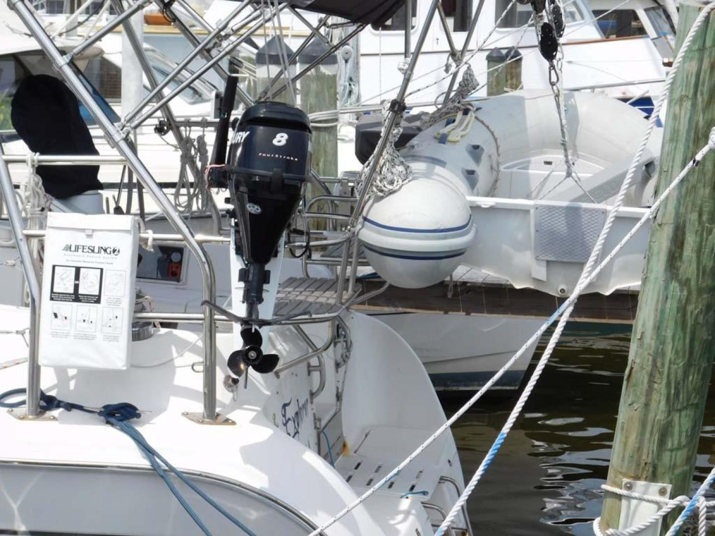 Hunter-41 DS 2011-Explorer Cocoa-Florida-United States-Dinghy Motor-925674 | Thumbnail