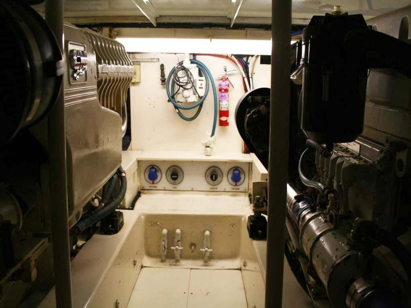 Monterey-Custom Sportfish 1978-Super Crew Cape May-New Jersey-United States-Engine Room-929371 | Thumbnail