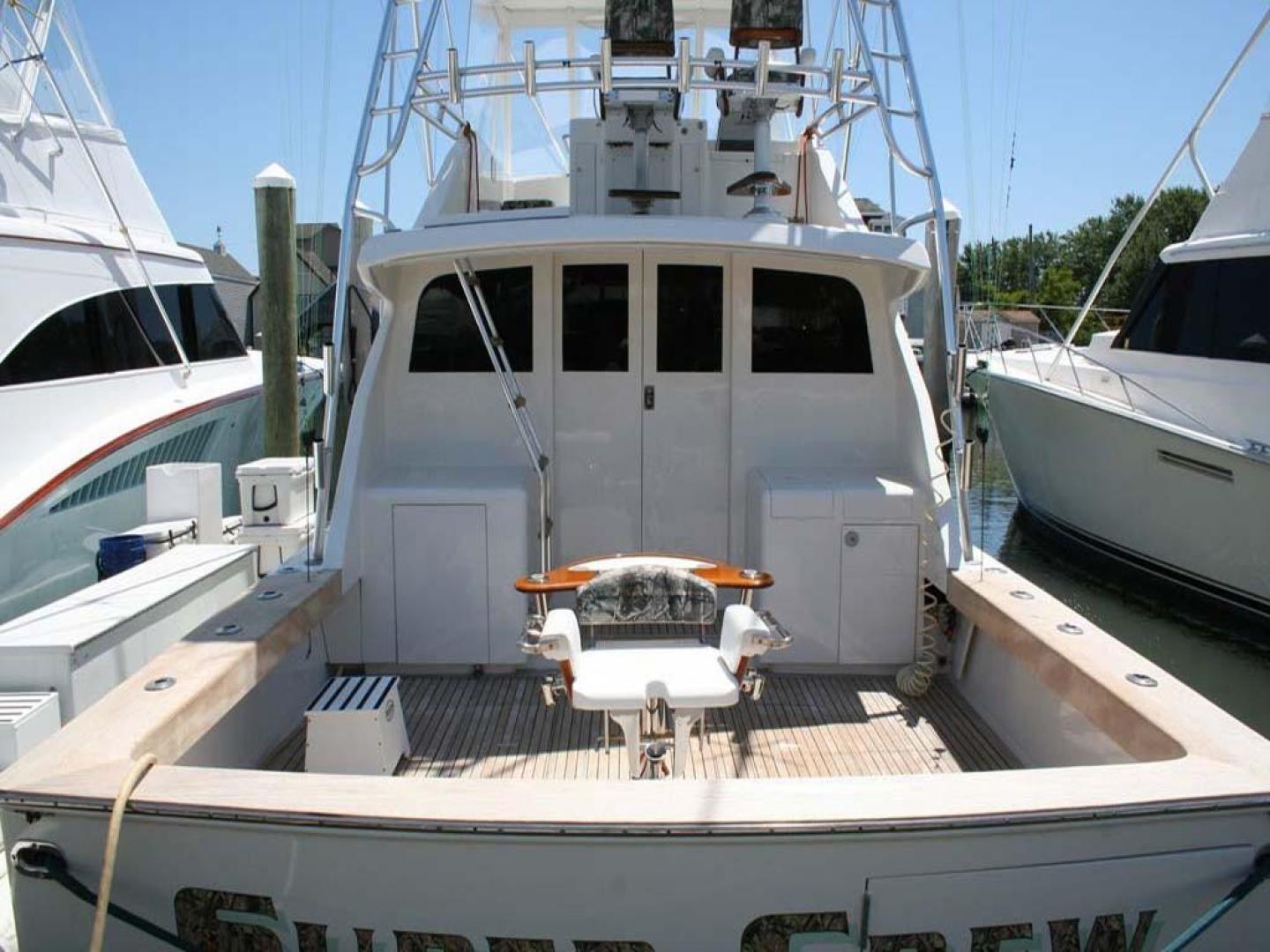 Monterey-Custom Sportfish 1978-Super Crew Cape May-New Jersey-United States-Cockpit with Fighting Chair-929363 | Thumbnail