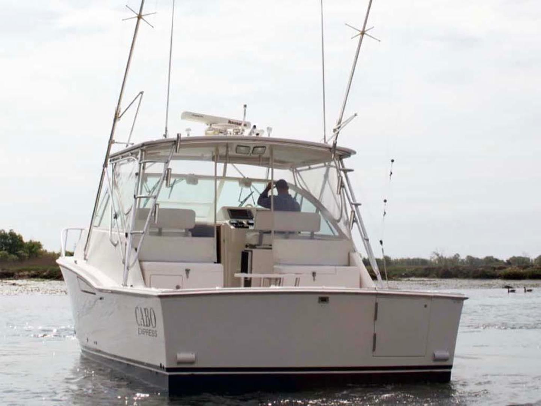 Cabo-35 Express 2006-Genesis Manteo-North Carolina-United States-Transom-930224 | Thumbnail