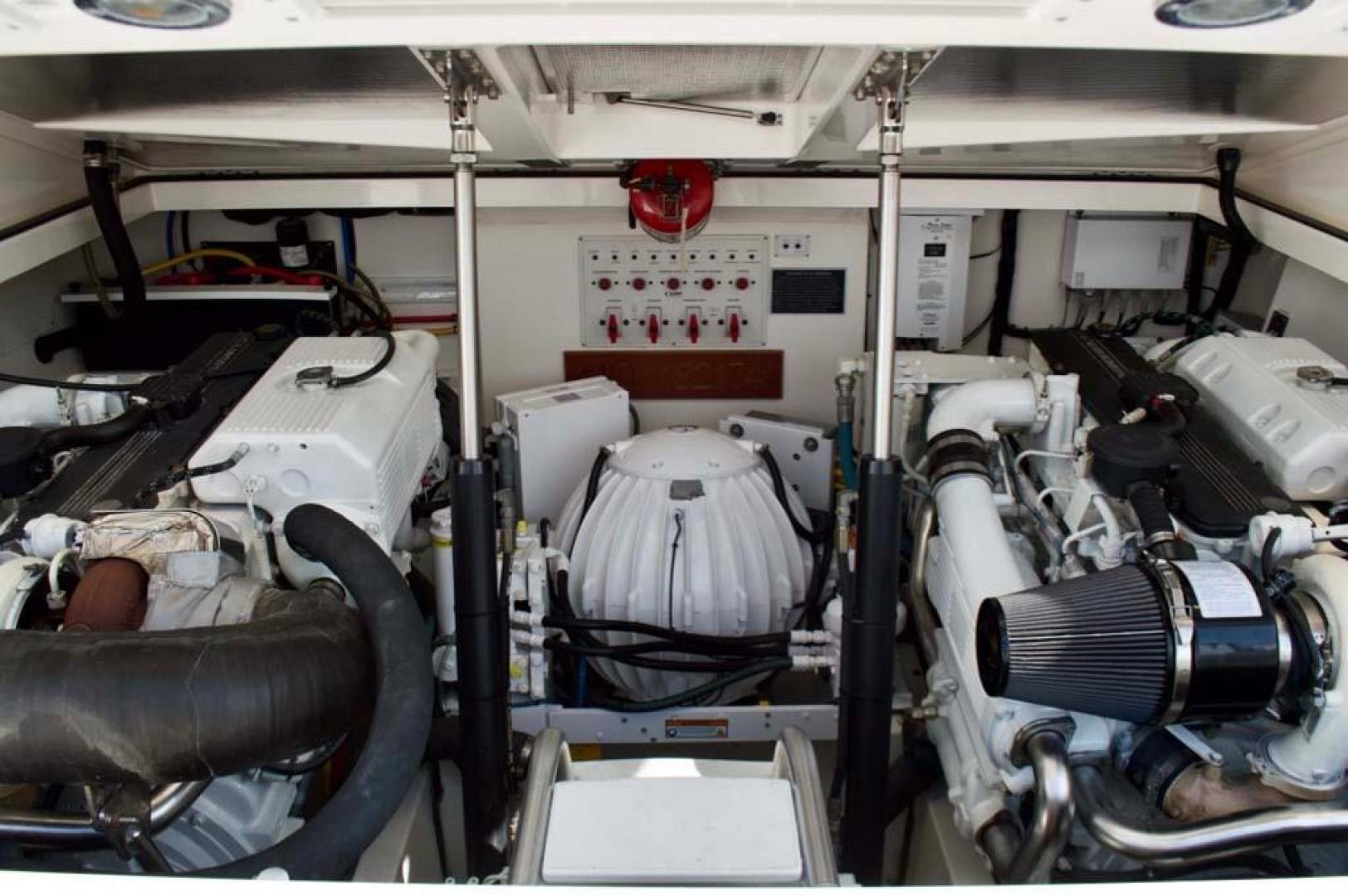 Cabo-35 Express 2006-Genesis Manteo-North Carolina-United States-Engine Room-930222 | Thumbnail