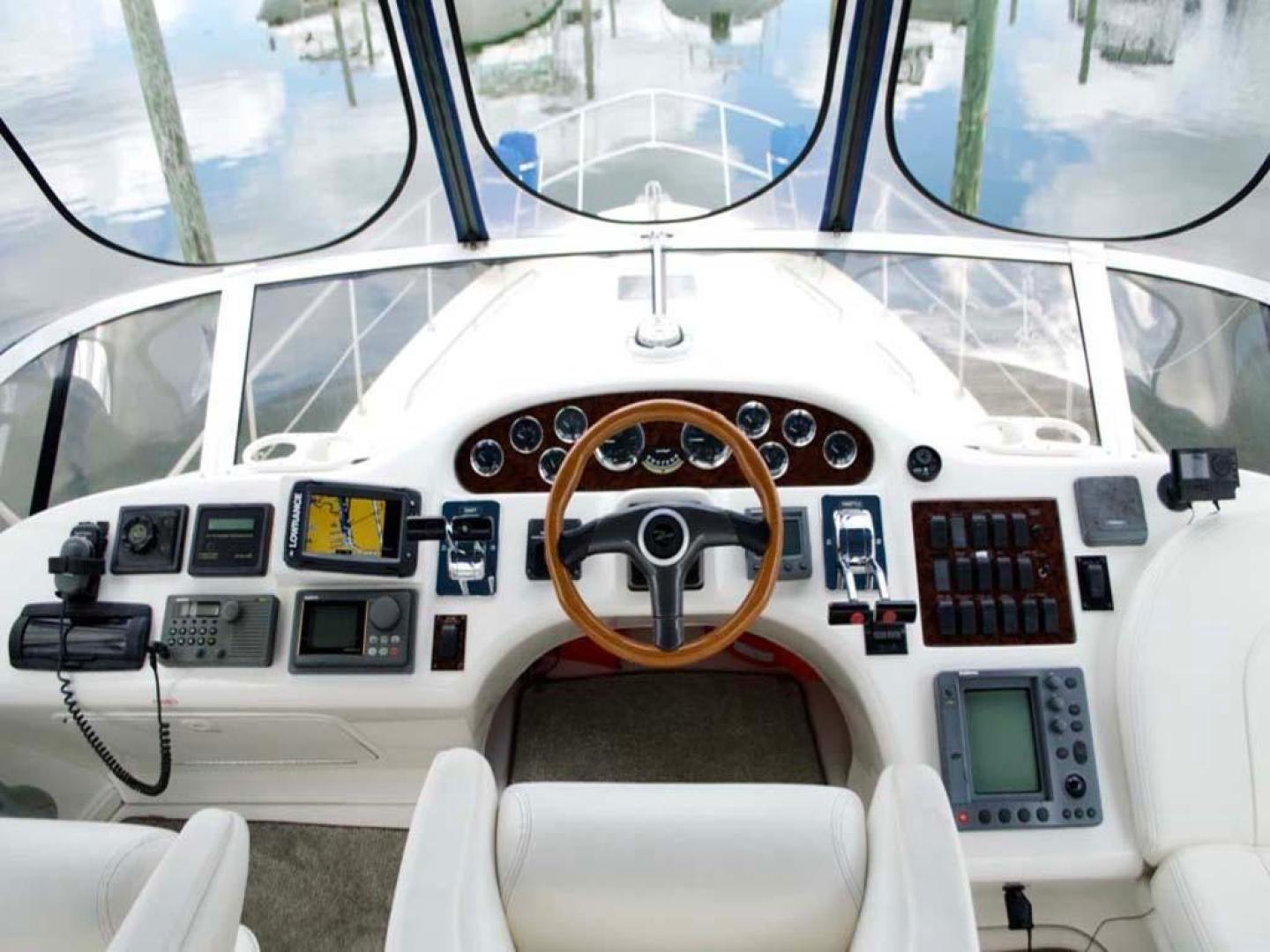 Sea Ray-420 Aft Cabin 2000-YOLO Long Island-New York-United States-Helm-930352 | Thumbnail