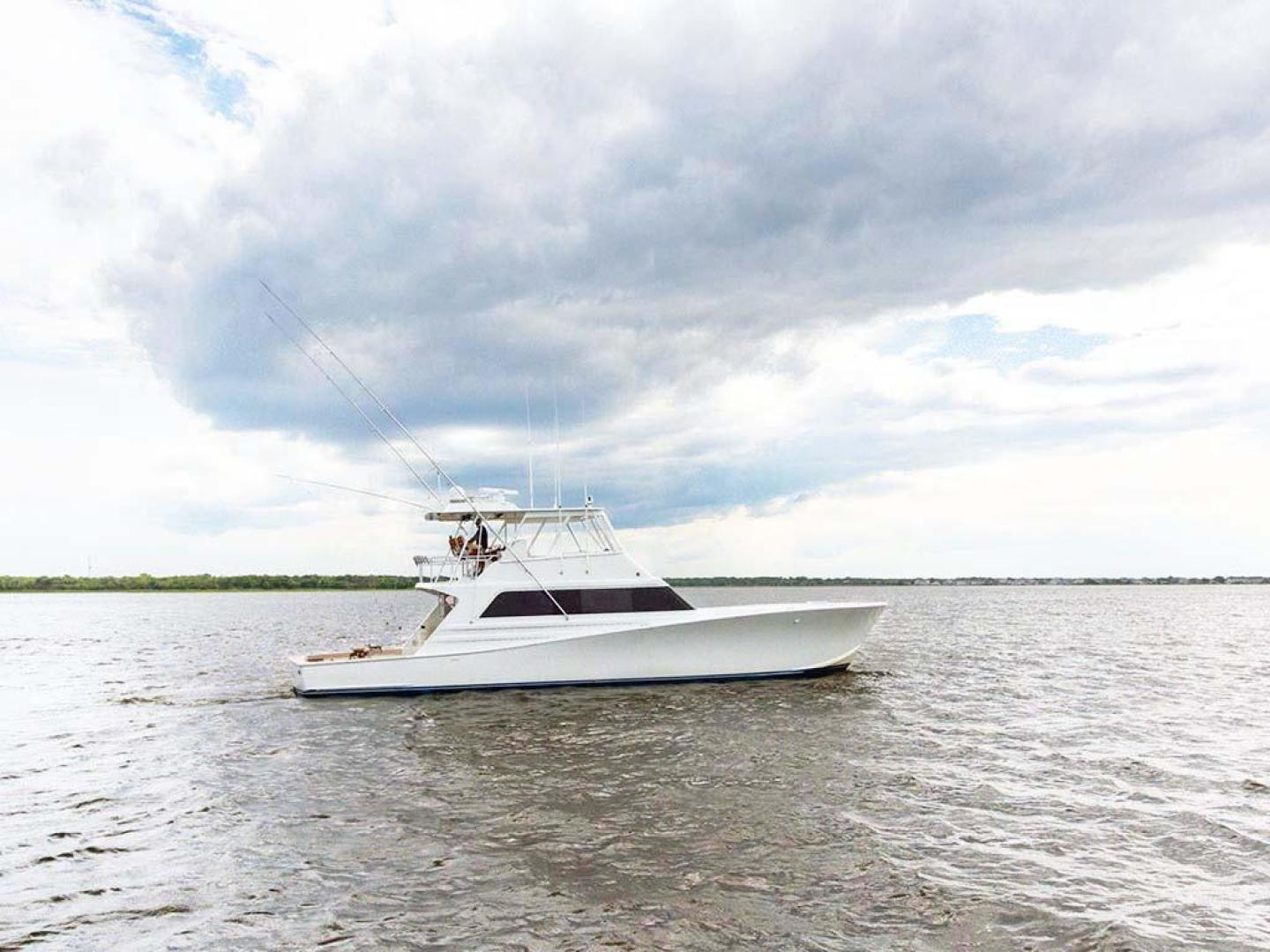 Monterey-65-Convertible-Custom-Sportfish-1991-Lady-Gemini-Mantoloking-New-Jersey-United-States-Starboard-View-930386