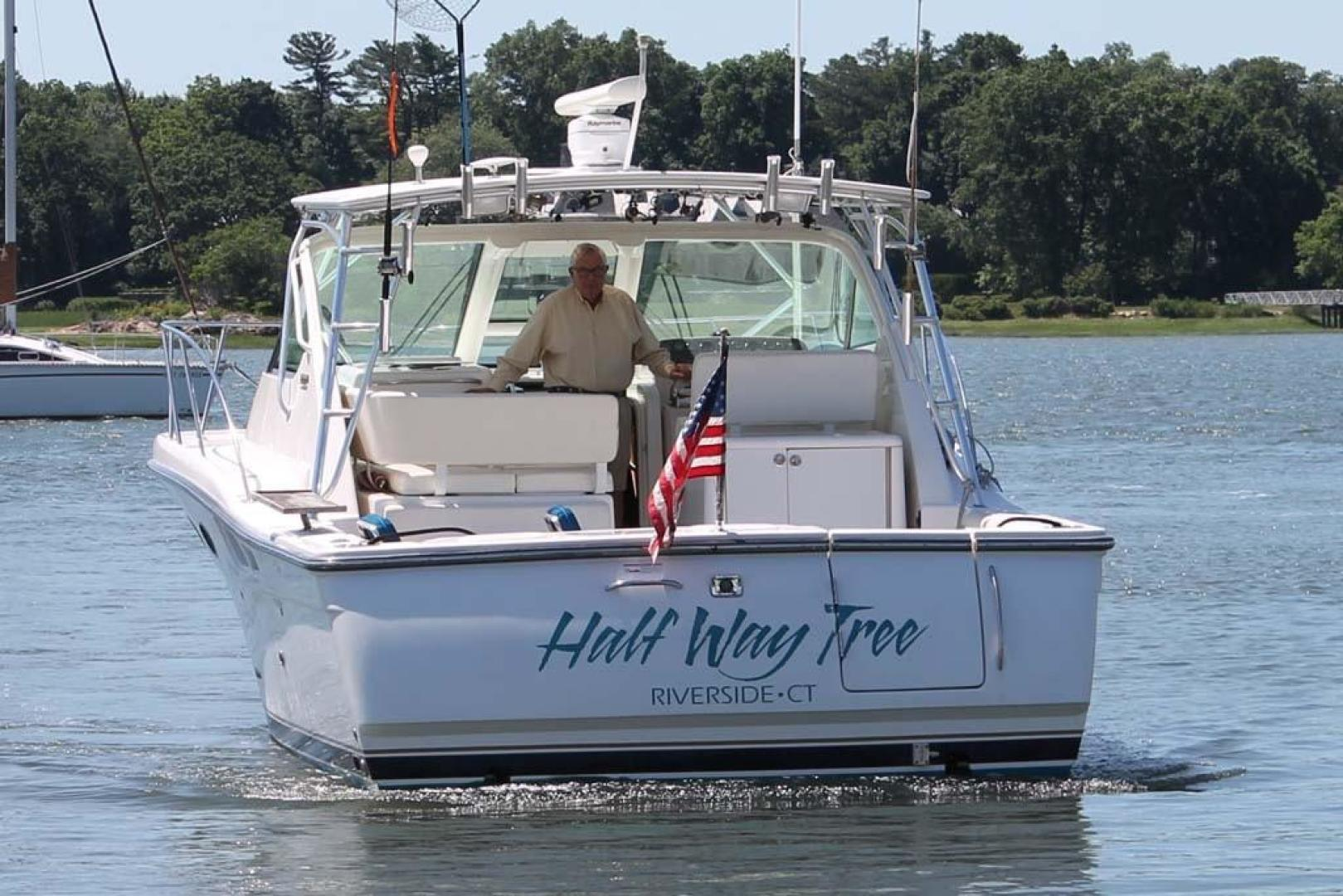 Tiara-32 Open 2007-Halfway Tree Greenwich-Connecticut-United States-Stern-920860 | Thumbnail