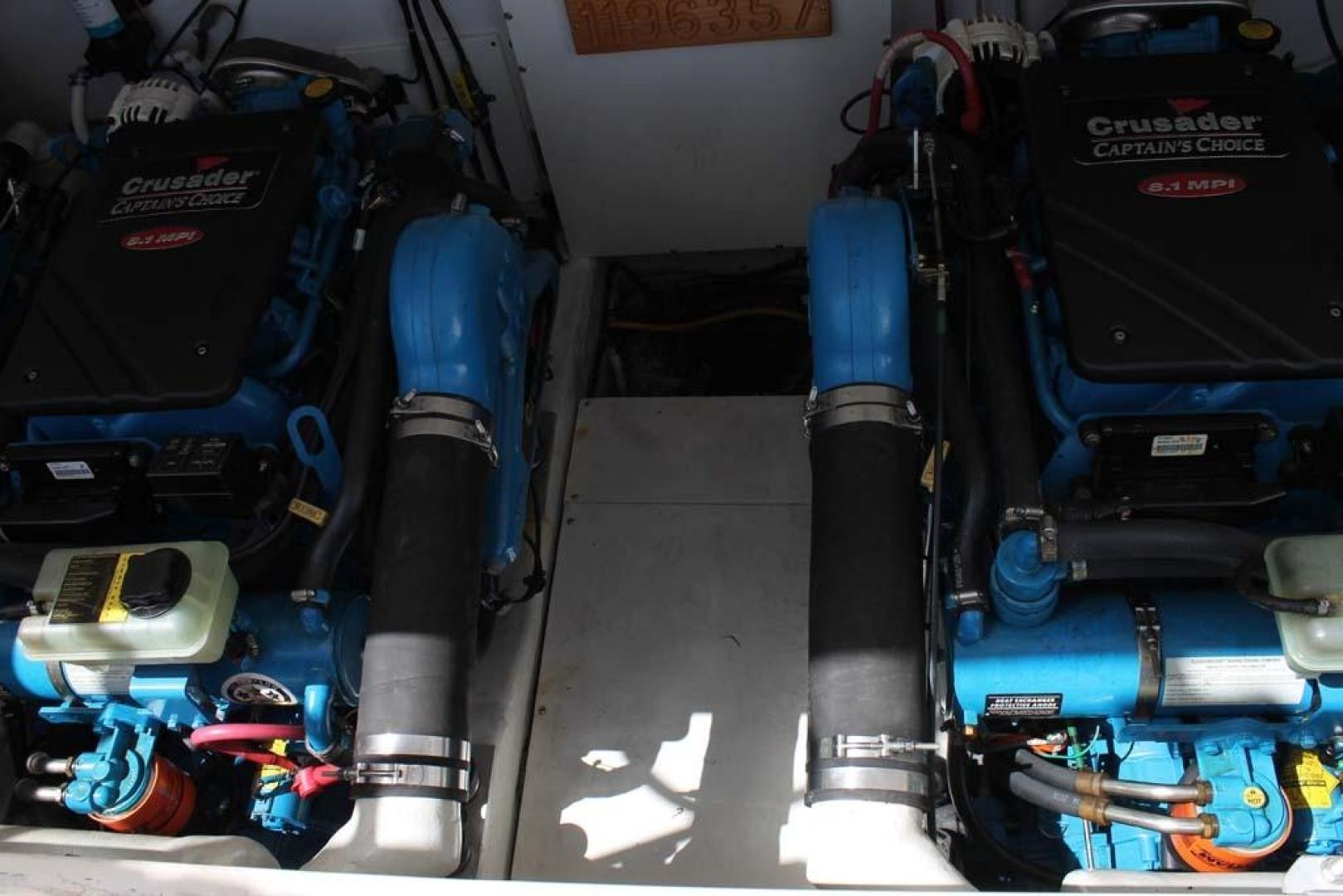 Tiara-32 Open 2007-Halfway Tree Greenwich-Connecticut-United States-Engine Compartment-920889 | Thumbnail