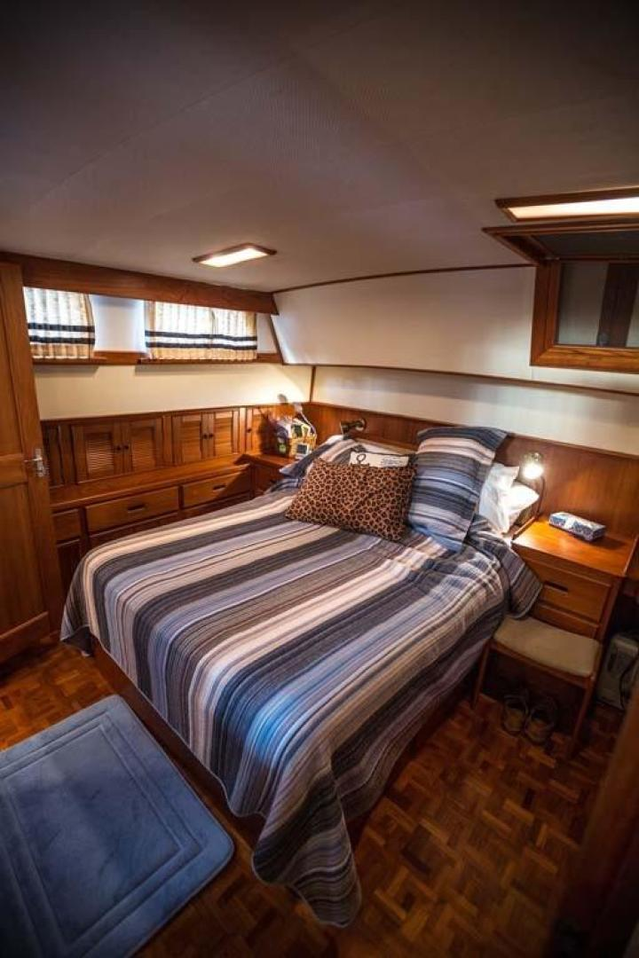 Grand Banks-42 Classic 1995-Little Salmonier St. Johns-Newfoundland And Labrador-Canada-Master Berth-920926 | Thumbnail