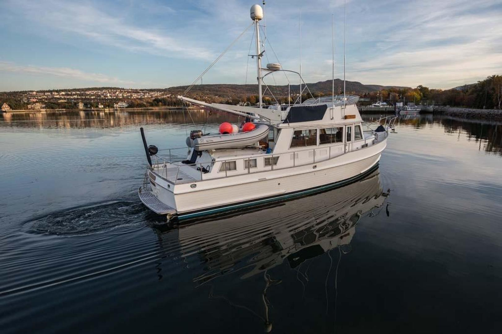 Grand Banks-42 Classic 1995-Little Salmonier St. Johns-Newfoundland And Labrador-Canada-Starboard Profile-920898 | Thumbnail