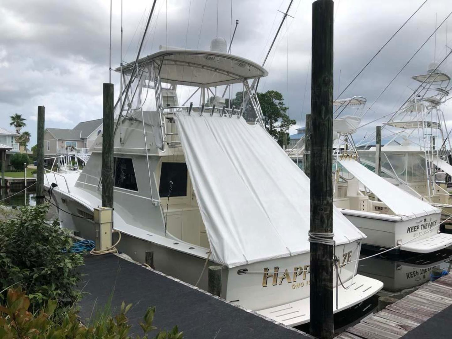 Hatteras-46 Convertible 1977 -Orange Beach-Alabama-United States-Port Aft Qtr-927571 | Thumbnail