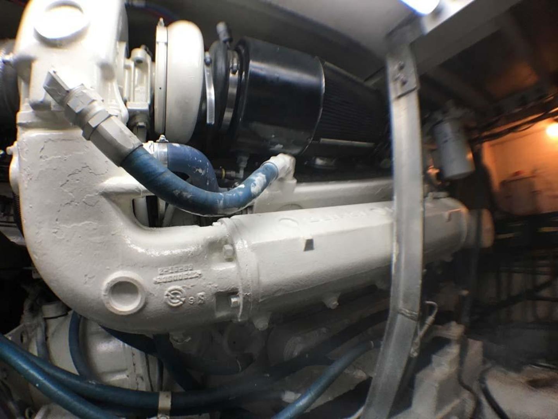 Hatteras-Convertible 1990-Congaree Orange Beach-Alabama-United States-Port Detroit Engine-927676 | Thumbnail