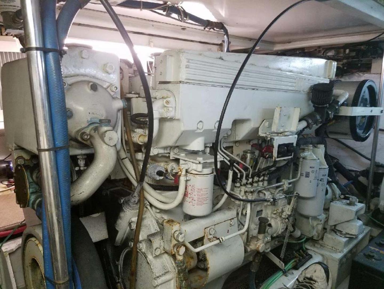 Custom-Richards 48 Convertible 1998-PIPE DREAM Pensacola-Florida-United States-Engine  Stbd-1480864 | Thumbnail