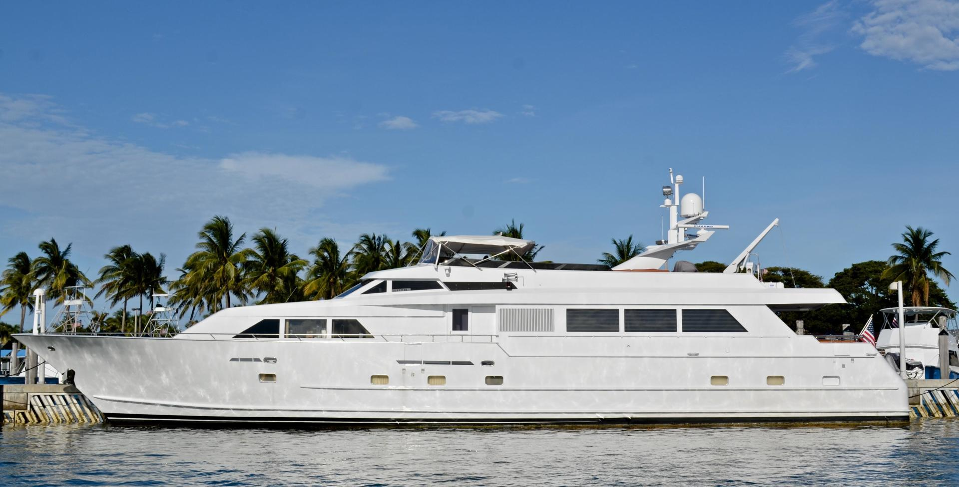 Picture Of: 105' Broward Raised Bridge Motor Yacht 1990 Yacht For Sale | 1 of 58