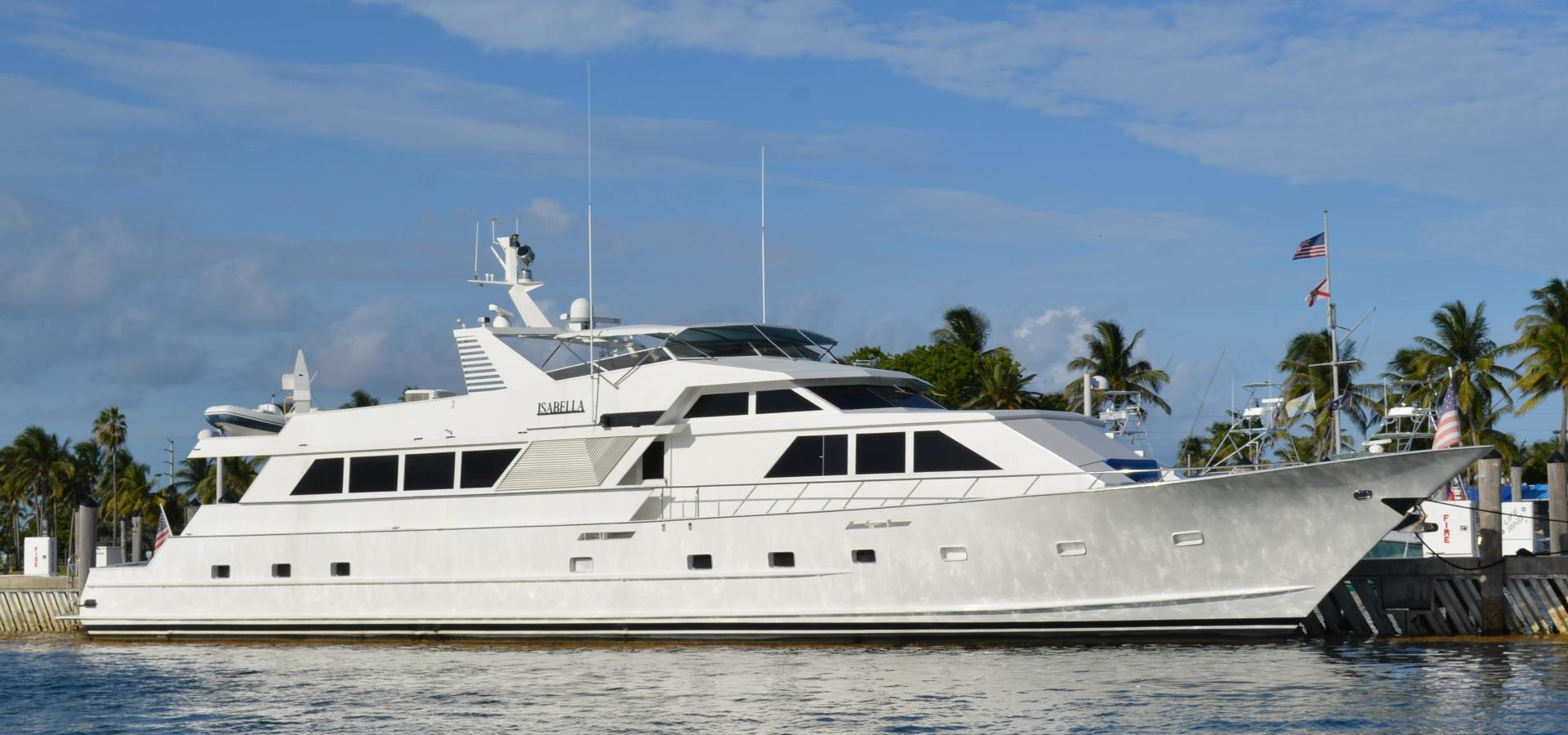 Picture Of: 104' Broward Cockpit Motor Yacht 1989 Yacht For Sale | 1 of 55