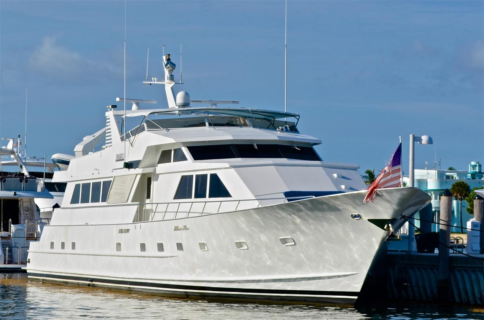 Picture Of: 104' Broward Cockpit Motor Yacht 1989 Yacht For Sale | 2 of 55