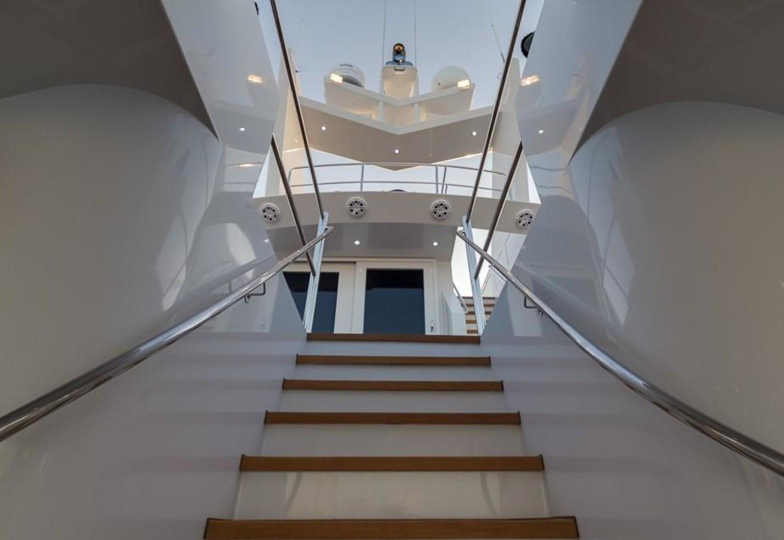 Stairs to Mid Deck