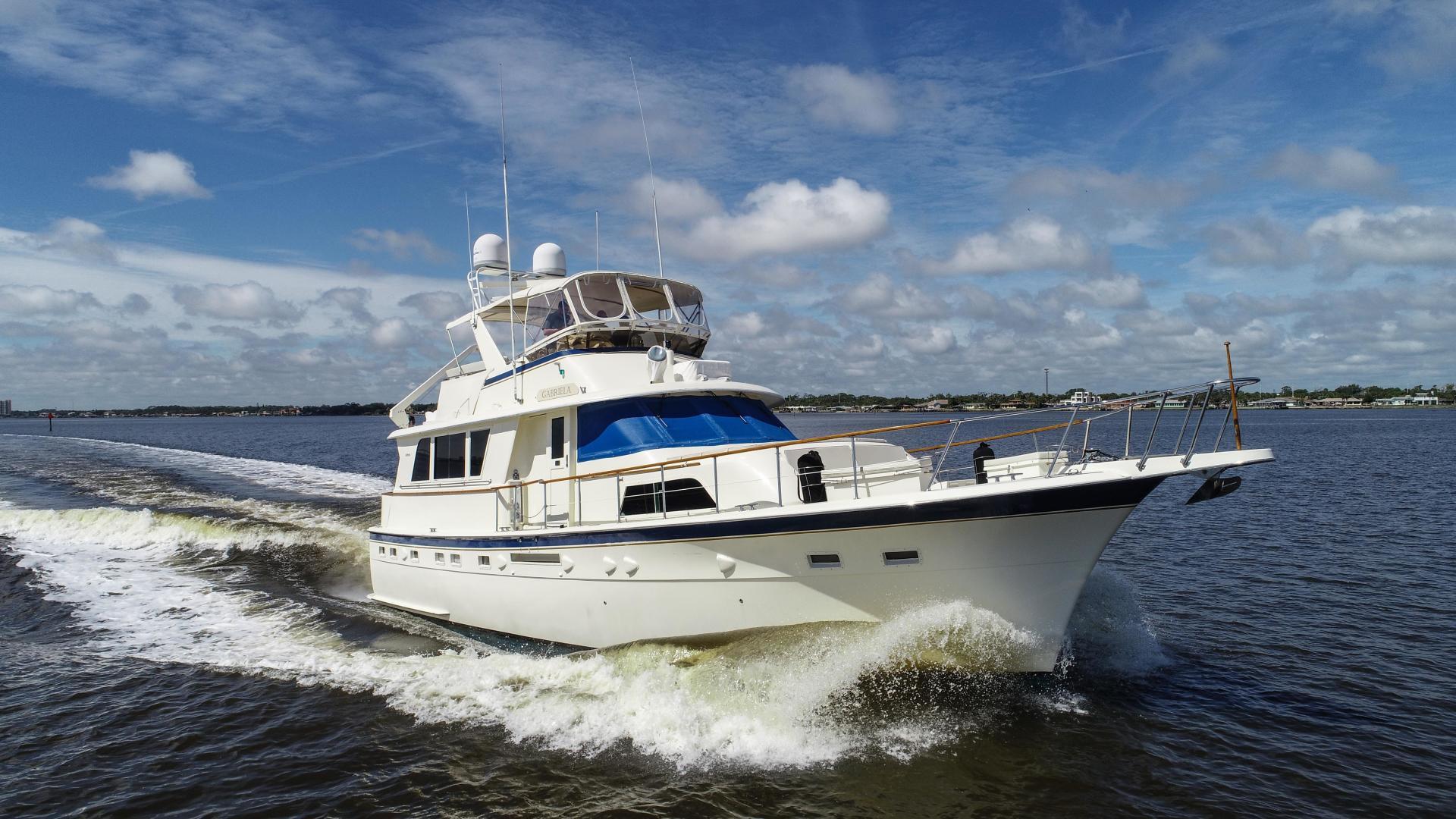 1984 Hatteras 53' 53 Motor Yacht