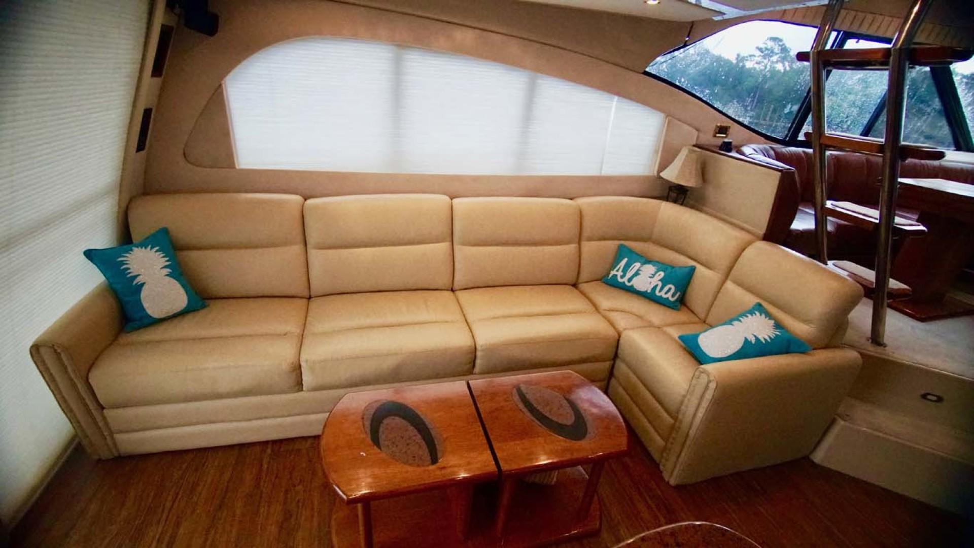 Cruisers Yachts-5000 Sport Sedan 1999-YOLO Niceville-Florida-United States-Salon Settee-1092874 | Thumbnail