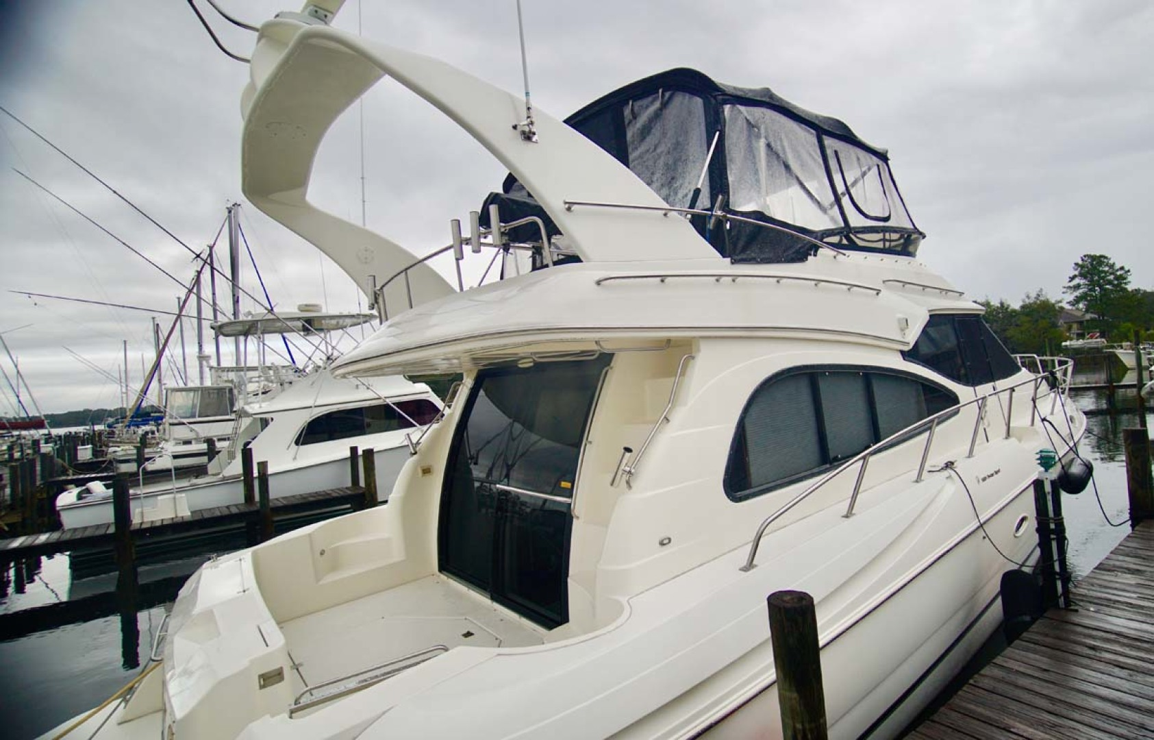 Cruisers Yachts-5000 Sport Sedan 1999-YOLO Niceville-Florida-United States-Stbd Aft Qtr-1092859 | Thumbnail